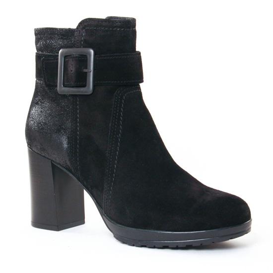 Bottines Et Boots Tamaris 25379 Black Metal, vue principale de la chaussure femme
