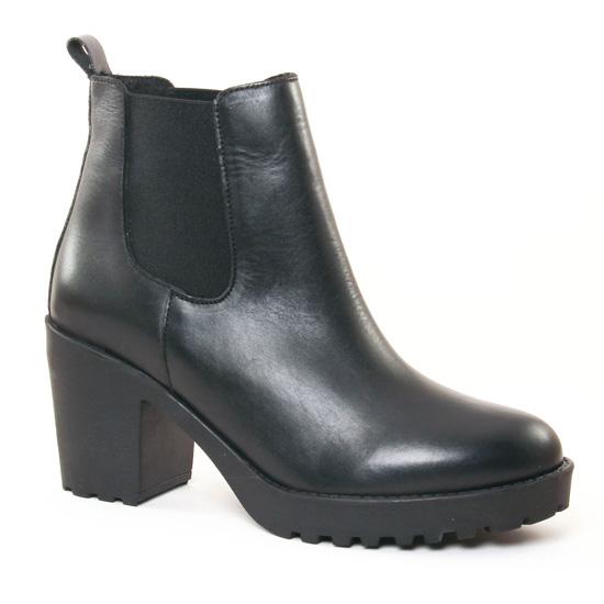 Bottines Et Boots Scarlatine 77725 Noir, vue principale de la chaussure femme