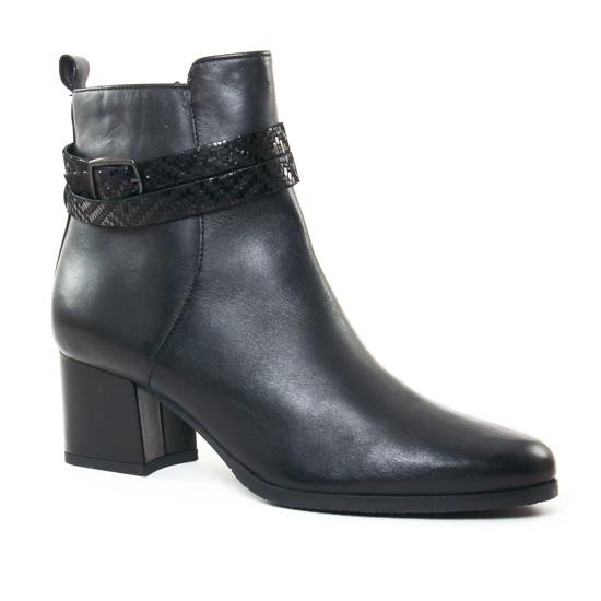 Bottines Et Boots Tamaris 25057 Black - Pub TV, vue principale de la chaussure femme