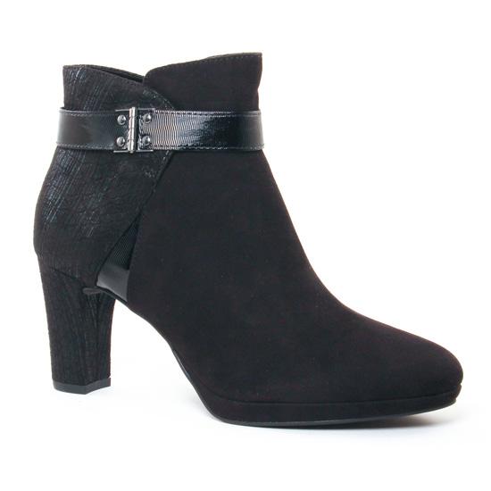 Bottines Et Boots Tamaris 25370 Black, vue principale de la chaussure femme