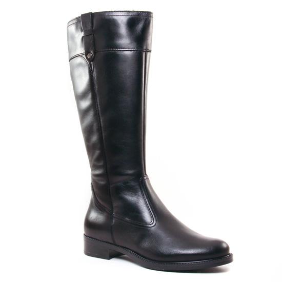 Bottes Tamaris 25520 Black, vue principale de la chaussure femme