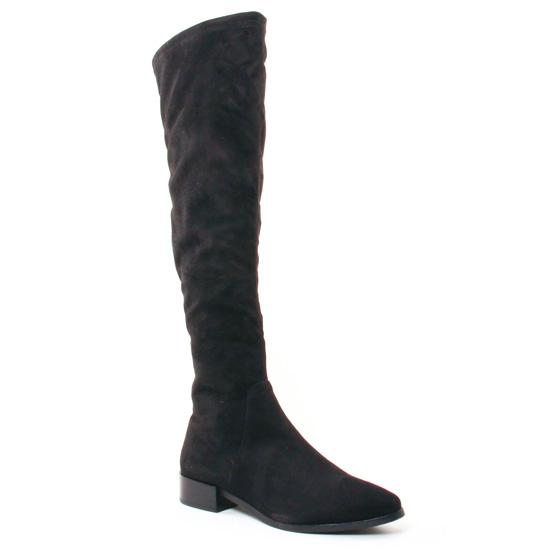 Bottes Jb Martin 1Raffi Noir, vue principale de la chaussure femme