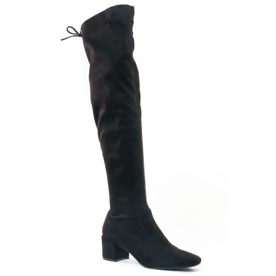 Bottes Jb Martin Decan Noir, vue principale de la chaussure femme