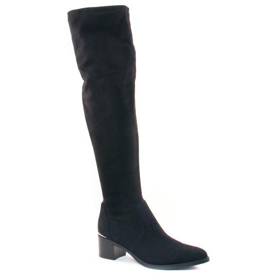 Bottes Jb Martin Eminence Noir, vue principale de la chaussure femme