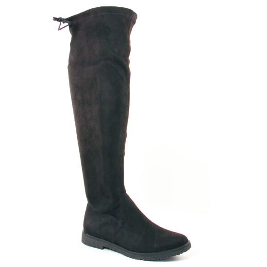 Bottes Marco Tozzi 25645 Black, vue principale de la chaussure femme