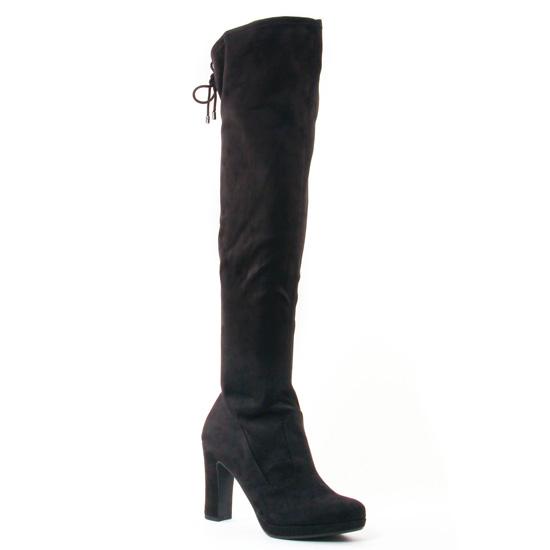 Bottes Tamaris 25560 Black, vue principale de la chaussure femme