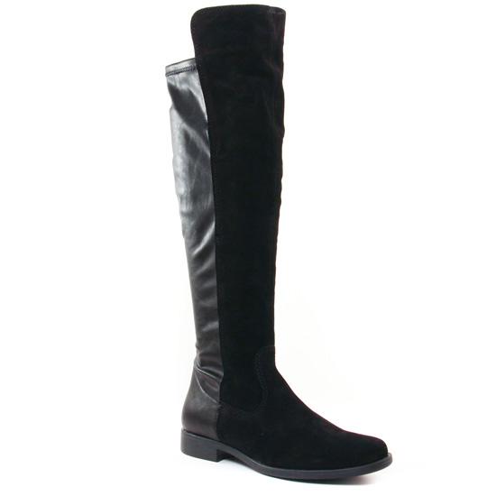 Bottes Tamaris 25568 Black, vue principale de la chaussure femme