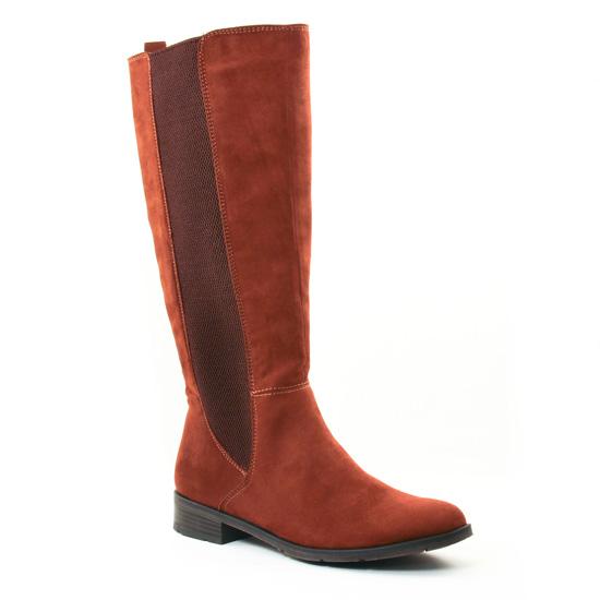 Bottes Marco Tozzi 25528 Cognac, vue principale de la chaussure femme
