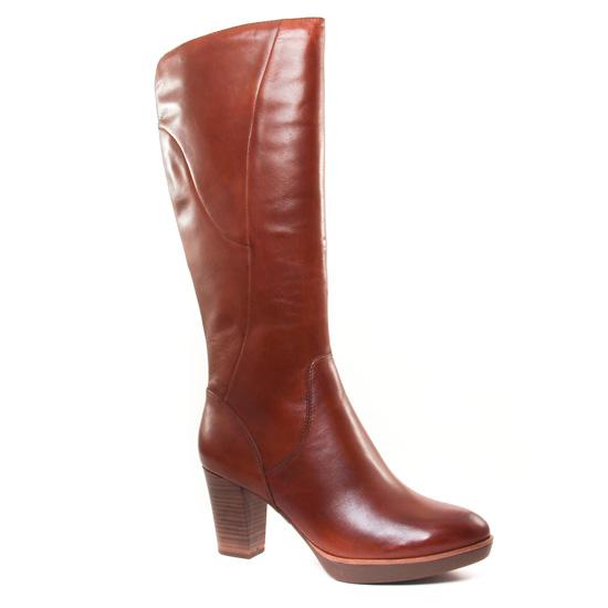 Bottes Tamaris 25524 Nut, vue principale de la chaussure femme
