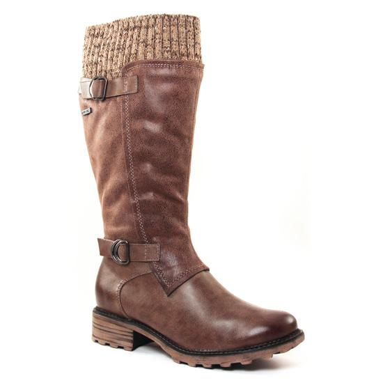 Bottes Tamaris 26624 Cigare, vue principale de la chaussure femme