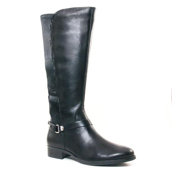 Bottes Caprice 25521 Black, vue principale de la chaussure femme