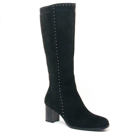 Bottes Dorking Belle 7297 Noir, vue principale de la chaussure femme
