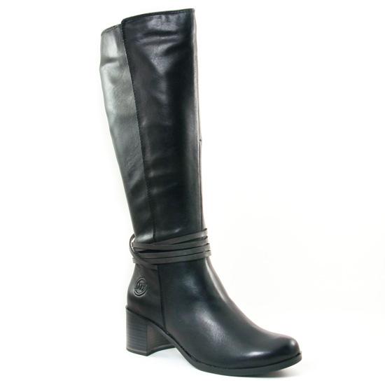 Bottes Marco Tozzi 25524 Black, vue principale de la chaussure femme