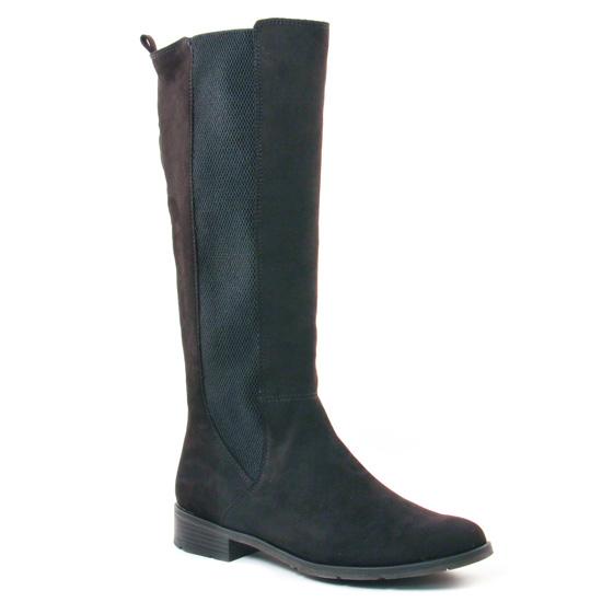 Bottes Marco Tozzi 25528 Black, vue principale de la chaussure femme