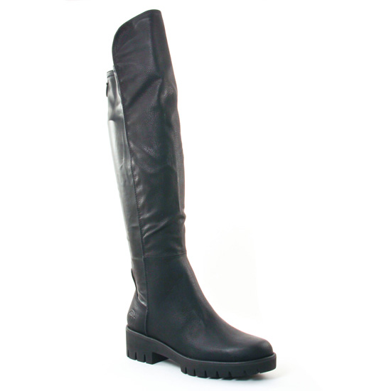 Bottes Marco Tozzi 25605 Black, vue principale de la chaussure femme