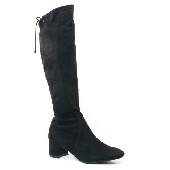 Bottes Tamaris 25516 Black, vue principale de la chaussure femme