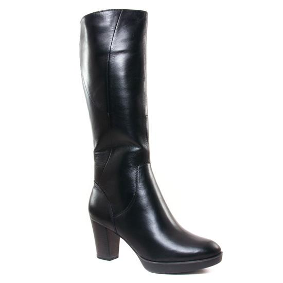 Bottes Tamaris 25524 Noir, vue principale de la chaussure femme