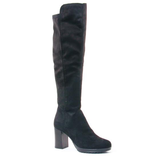 Bottes Tamaris 25589 Black, vue principale de la chaussure femme