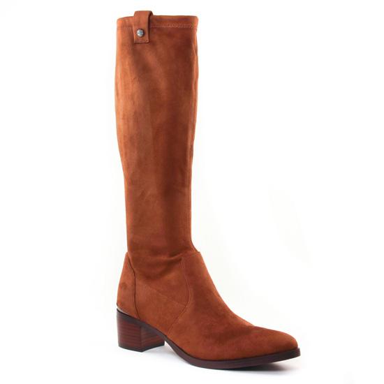 Bottes Jb Martin Encre Nuts, vue principale de la chaussure femme