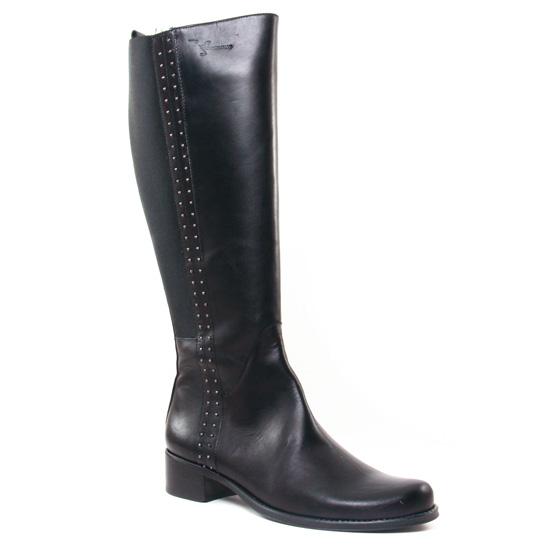 Bottes Dorking Dulce 7220 Noir, vue principale de la chaussure femme