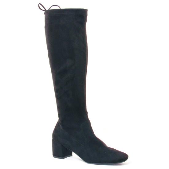 Bottes Jb Martin Dahlia Noir, vue principale de la chaussure femme
