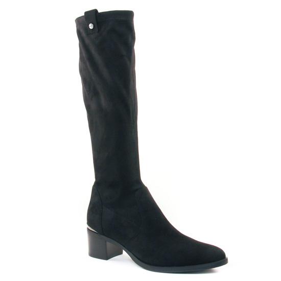 Bottes Jb Martin Encre Noir, vue principale de la chaussure femme