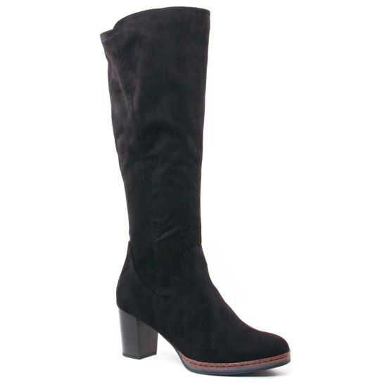 Bottes Marco Tozzi 25522 Black, vue principale de la chaussure femme