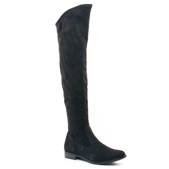 tamaris 25569 black botte stretch noir automne hiver chez trois par 3. Black Bedroom Furniture Sets. Home Design Ideas