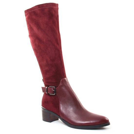 Bottes Jb Martin Esther Prune, vue principale de la chaussure femme