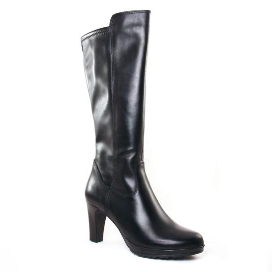Bottes Tamaris 25548 Black, vue principale de la chaussure femme