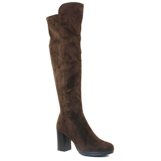 Bottes Tamaris 25589 Olive, vue principale de la chaussure femme