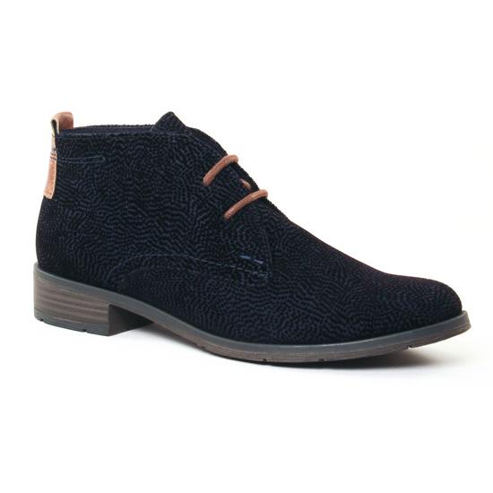 Bottines Et Boots Marco Tozzi 25101 Navy, vue principale de la chaussure femme