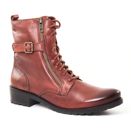 Bottines Et Boots Caprice 25103 Brandy, vue principale de la chaussure femme