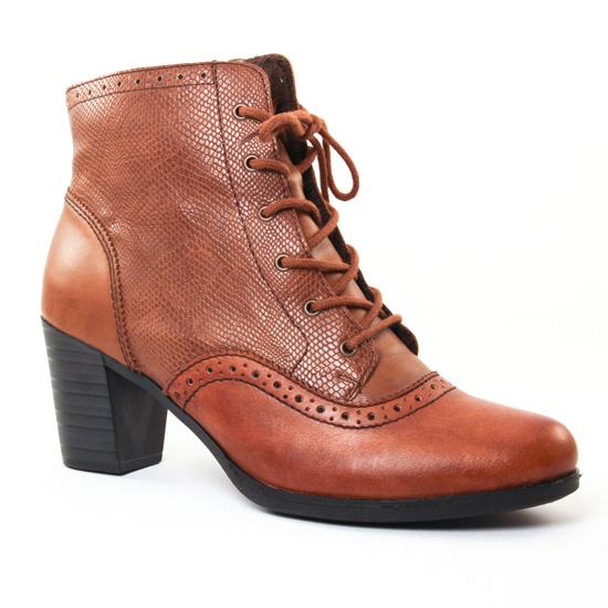 Bottines Et Boots Rieker Y8930 Marron, vue principale de la chaussure femme