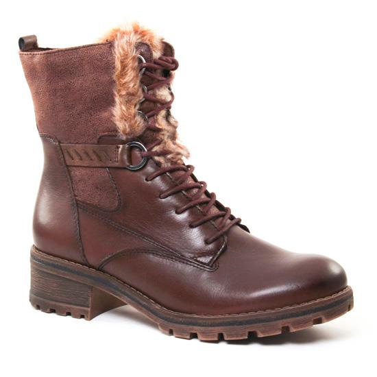 Bottines Et Boots Tamaris 26212 Marron, vue principale de la chaussure femme