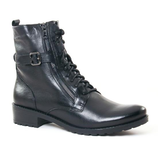Bottines Et Boots Caprice 25103 Black, vue principale de la chaussure femme
