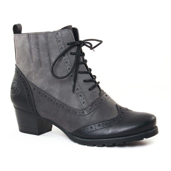 Bottines Et Boots Marco Tozzi 25123 Black, vue principale de la chaussure femme