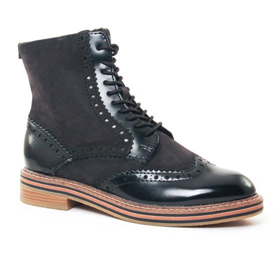Bottines Et Boots Marco Tozzi 25256 Black, vue principale de la chaussure femme