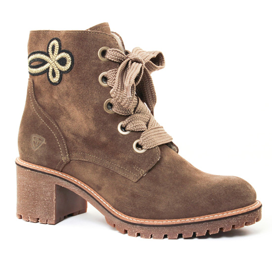 Bottines Et Boots Tamaris 26036 Olive, vue principale de la chaussure femme