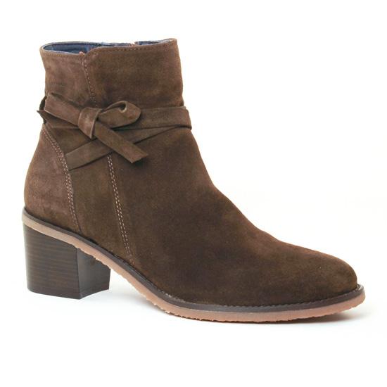 Bottines Et Boots Dorking Ambra 7335 Herb Herb, vue principale de la chaussure femme