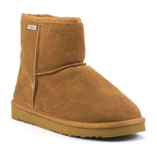 Bottines Et Boots Les Tropeziennes Flocon Camel, vue principale de la chaussure femme