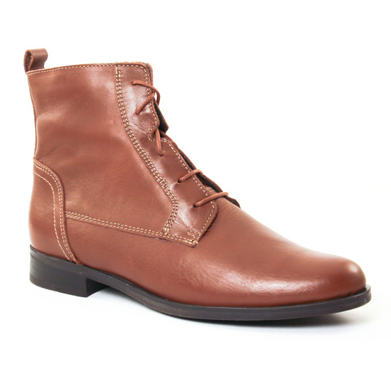 Bottines Et Boots Scarlatine 7909 Camel, vue principale de la chaussure femme