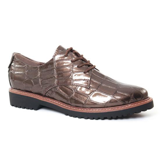 Chaussures À Lacets Marco Tozzi 23703 Pepper, vue principale de la chaussure femme