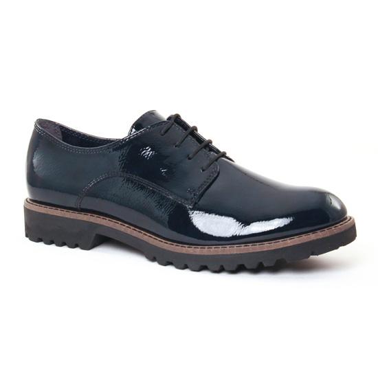 Chaussures À Lacets Tamaris 23214 Navy Patent, vue principale de la chaussure femme