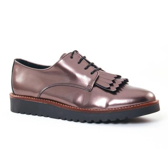 Chaussures À Lacets Scarlatine 7797 Bronze, vue principale de la chaussure femme