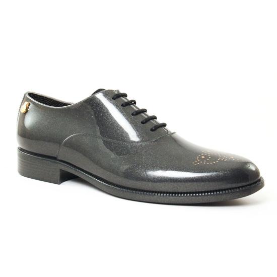 Chaussures À Lacets Lemon Jelly Jenny Grey, vue principale de la chaussure femme