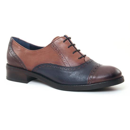 Chaussures À Lacets Dorking Tierra 6925 Grafito, vue principale de la chaussure femme