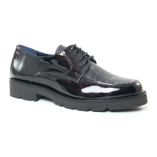 Chaussures À Lacets Dorking Venus 6937 Noir, vue principale de la chaussure femme