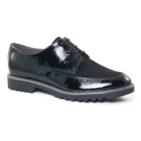 Chaussures À Lacets Tamaris 23206 Black, vue principale de la chaussure femme