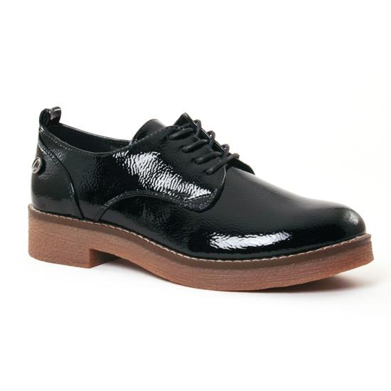 Chaussures À Lacets Carmela 65818 Black, vue principale de la chaussure femme